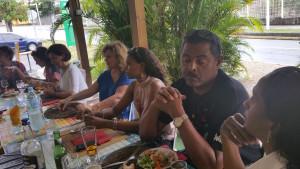 Déjeuner avec Emmanuel Robeirii, délégué géographique de la Guadeloupe des médiateurs professionnels