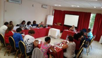 Session de formation à la médiation professionnelle en Guadeloupe.